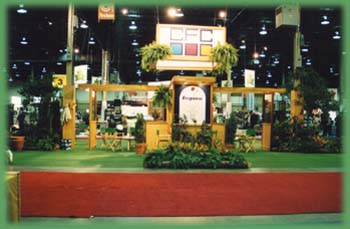 Bring Nature into Your Booth with Amherst Rental Plants